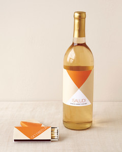 Modern Wine Label Favor Tag Template And How To Martha
