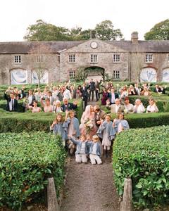 corbin thatcher wedding guest group photo