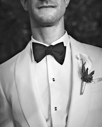 well dressed groom
