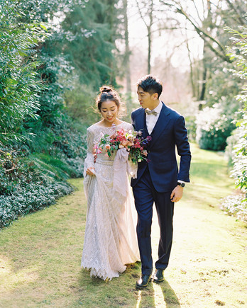 jackie ben wedding couple