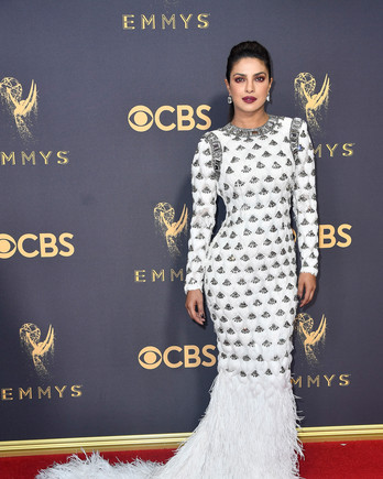 Priyanka Chopra Emmys Red Carpet 2017