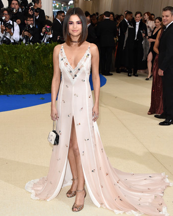 Selena Gomez Met Gala 2017 Dress
