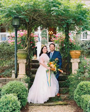 ashley scott wedding couple bride and groom