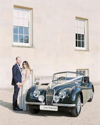 momina jack wedding vintage car couple