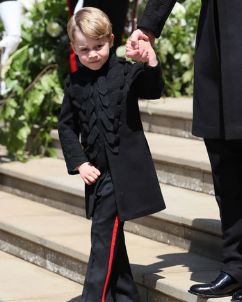 Prince George at Royal Wedding
