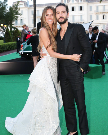 Heidi Klum and Tom Kaulitz at Cannes amfAR Gala