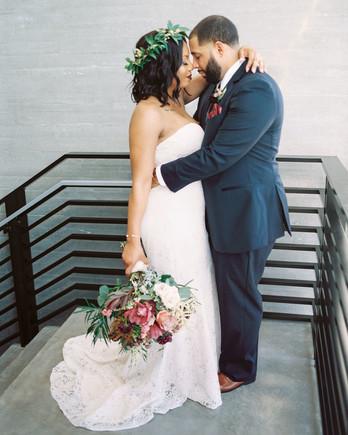Nishea and Anthony Wedding Portrait