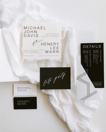 henery michael wedding invites stationery