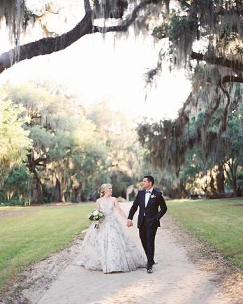chelsea john wedding couple walking