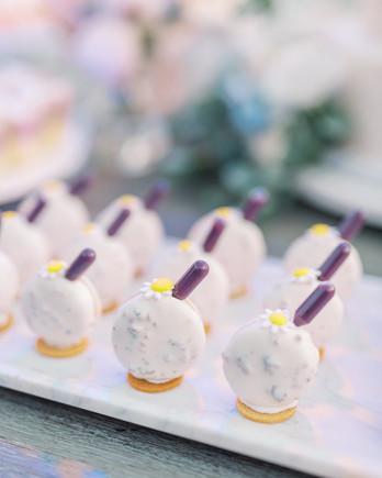 bettina gino wedding dessert bites