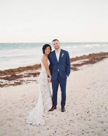 sophie jordan wedding couple on beach
