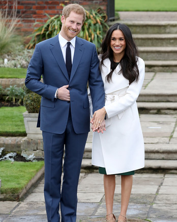 Meghan Markle Prince Harry Official Engagement Photos