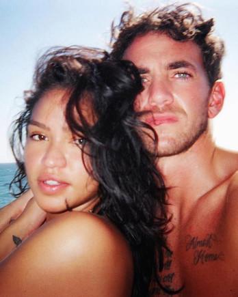 Cassie Ventura and Alex Fine
