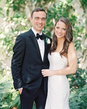 cat denis wedding bride and groom portrait