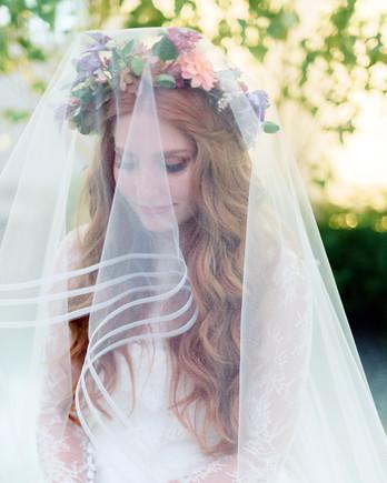 Bridal Hairstyles | Martha Stewart Weddings - photo #19