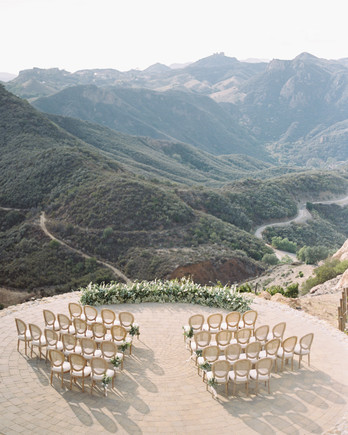 mountaintop wedding ceremony