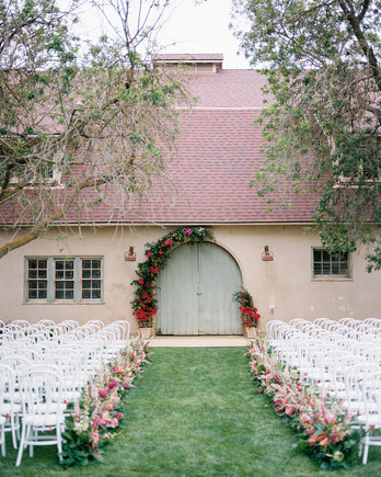 amy mark california ceremony door