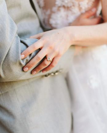 ashley basil wedding couple engagement ring