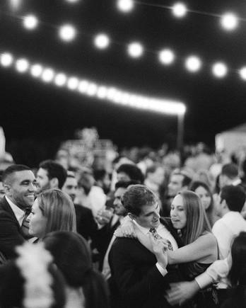 becca joey wedding guests dancing