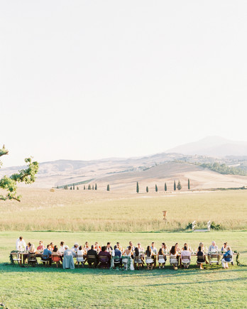 leila joel wedding dinner