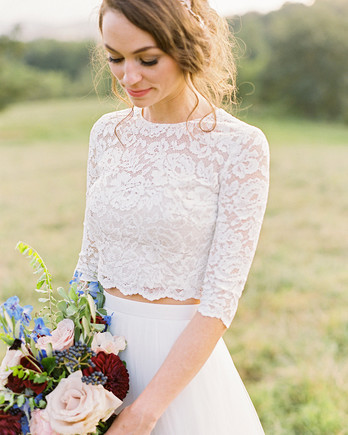 ashley and justin bride portrait