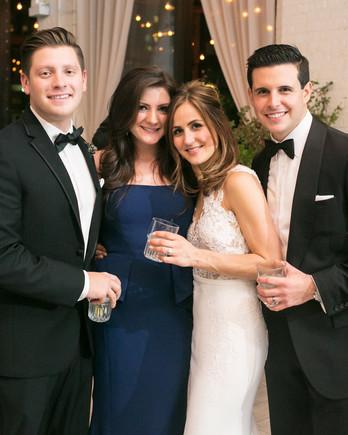 meaghan mark wedding reception maid of honor