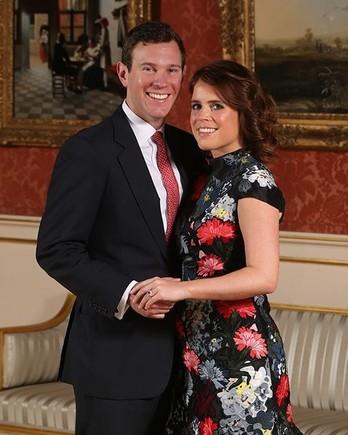 princess eugenie jack brooksbank engagement photo