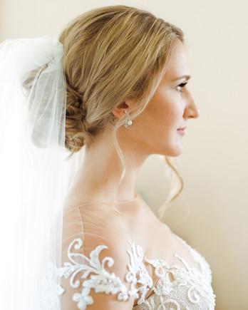 jessika william wedding updo