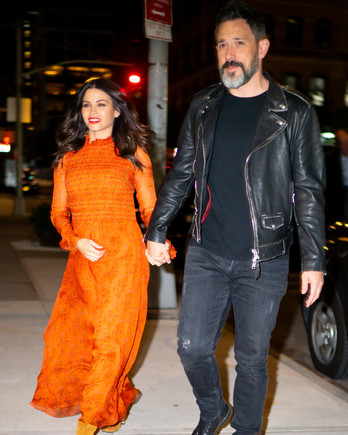 jenna dewan steve kazee walking in new york