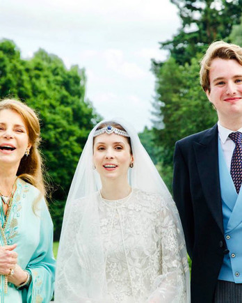 Raiyah bint Al-Hussein and Ned Donovan Wed