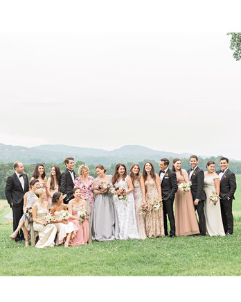 ashley samantha wedding cornwall ny wedding party