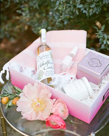Spa Goodies bachelorette party favors