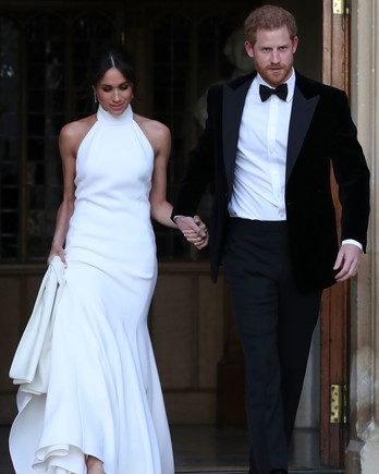 Meghan Markle Prince Harry Second Look Royal Wedding 2018