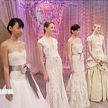 Monique Lhuillier Bridal Fashion Show
