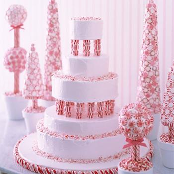 Peppermint Fantasy Cake