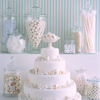 White Candy Windfall Cake