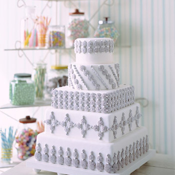 Nonpareil Tower Cake