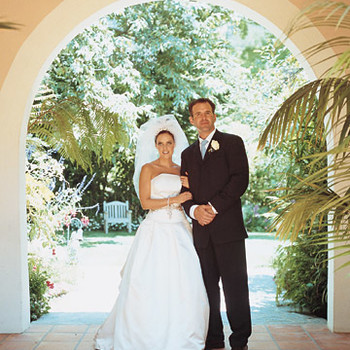Real Wedding: Kary and Terry, Bel Air, California