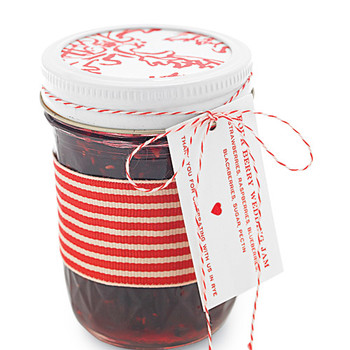 Jam Wedding Favor and Four-Berry Jam Labels How-To