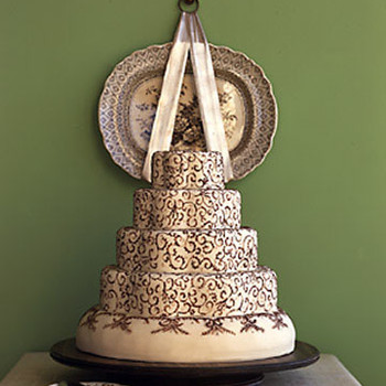 Wedding Cakes Inspired by China Patterns