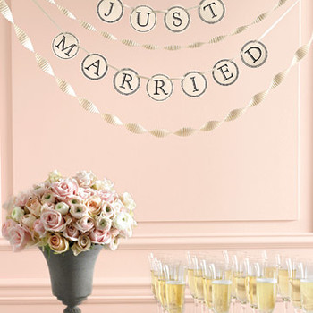 This DIY Banner Will Transform Any Aspect of Your Wedding Ceremony or Reception