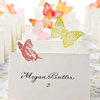 Butterfly Seating Cards
