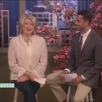 Martha Stewart Talks Wedding Dresses with Tom Mora from J. Crew