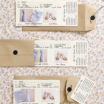 Maid Service: Bridesmaid Fashion Cards