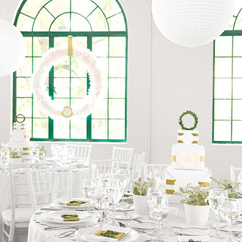 Real Weddings with Green Ideas