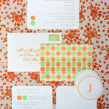 Combining Patterns in Your Wedding Decor