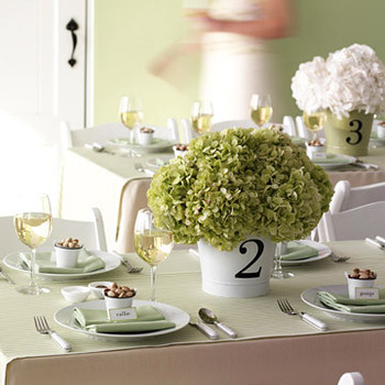 Table-Number Centerpiece