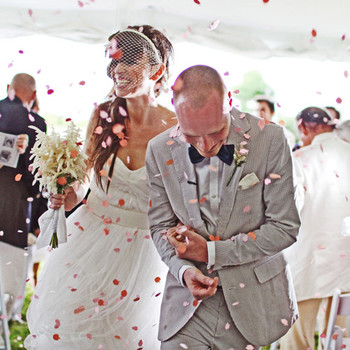 A Whimsical Beach Destination Wedding in New York