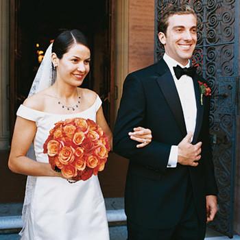 A Formal Outdoor Autumn Wedding in California