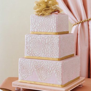 Wedding Colors: Pink and Gold